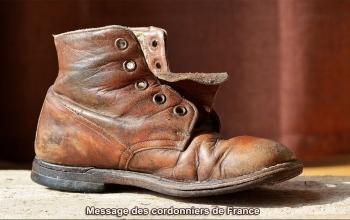 Réparation des chaussures usées