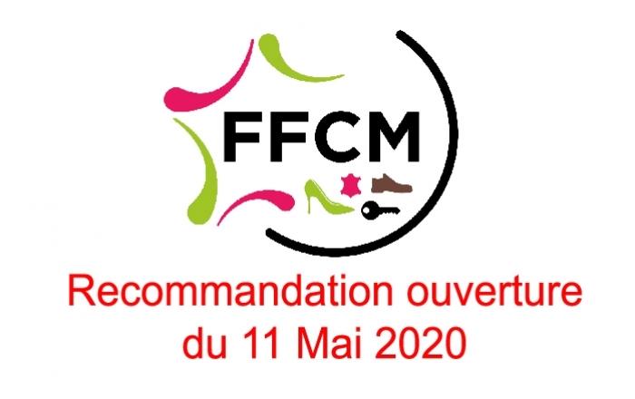 Recommandation en vue de l'ouverture du 11 Mai 2020